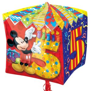 Cubez Mickey Mouse 5th Birthday Balloon 24 Foil