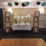 baby shower venue decoration